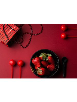 Le bol de fraises