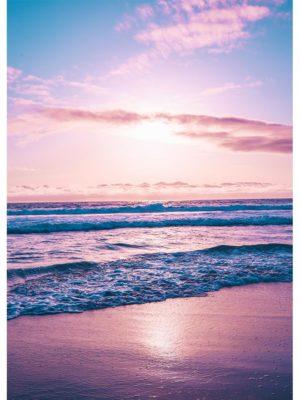 Aurore sur le mer