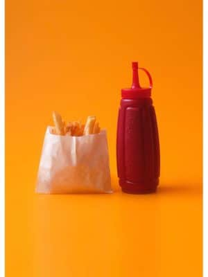 Frites ketchup
