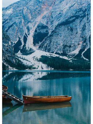 Barque en montagne